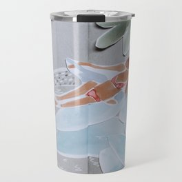 Inflatable Pool Travel Mug