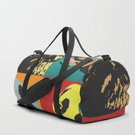 Pop Art Labrador Retriever Duffle Bag