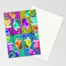 Poppies are Wild Stationery Cards