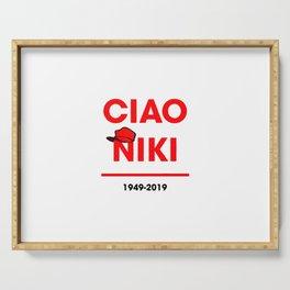 Ciao niki lauda Serving Tray