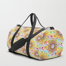 Birthday Party Polka Dots Duffle Bag
