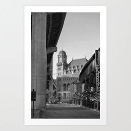 Main Street Station Richmond, Va. Art Print