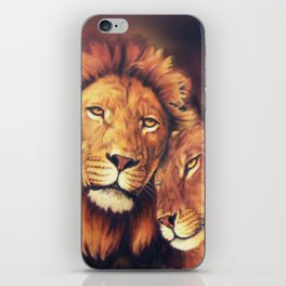 Lions Soulmates iPhone Skin