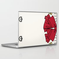 persona Laptop & iPad Skins featuring Persona 3 Aigis  by Bunny Frost