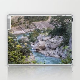 Walking by the river Laptop & iPad Skin