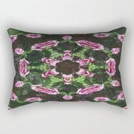 Rosas Moradas 2 Kaleidoscope 9 Rectangular Pillow