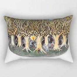 Goblin Market - illustration of poem by Christina Rossetti Rectangular Pillow