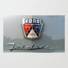 Ford Fairlane Script Rug
