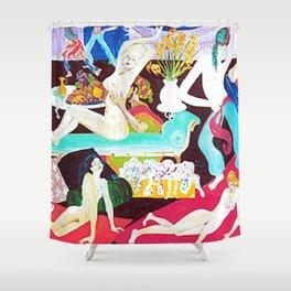 Harem  Fantasy               by Kay Lipton Shower Curtain