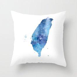 Taiwan Throw Pillow