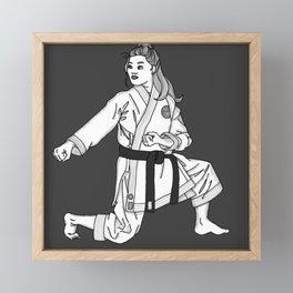 Strong Like a Woman (1 Nephi 17:2) Framed Mini Art Print