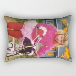 Let It Burn Rectangular Pillow