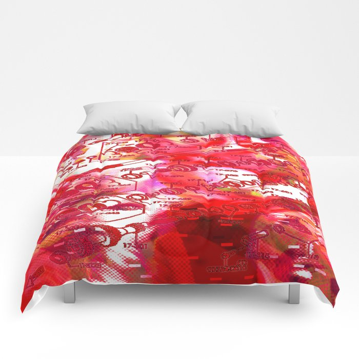 Forget It < The NO Series (Red) Comforters
