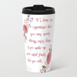 Anne of Green Gables Make Up Your Mind Travel Mug