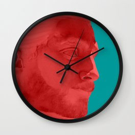 Lumbersexual Wall Clock