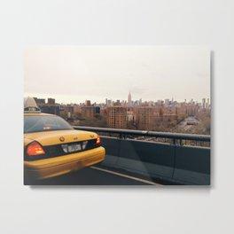new york skylines Metal Print