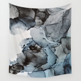 Smoke Show - Alcohol Ink Painting Wall Tapestry