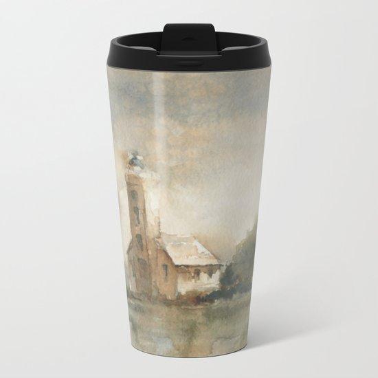 Grand Island Guardian Metal Travel Mug