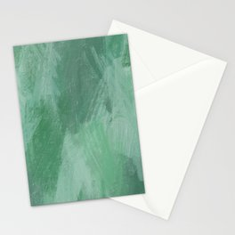 Abstract Seaweed - Oil Pastels Stationery Cards