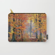 Colorful Autumn Fall Forest Carry-All Pouch