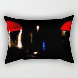 Alien Head Rectangular Pillow