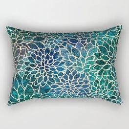 Floral Abstract 4 Rectangular Pillow