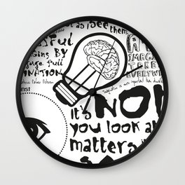 Imagination in the membrane Wall Clock