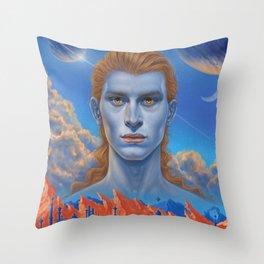 Martian Chronicles Throw Pillow