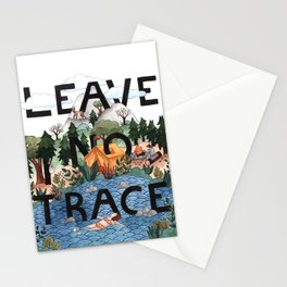 Leave No Trace Stationery Cards