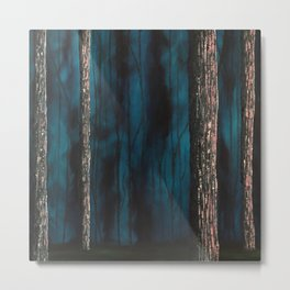 Inside the dark forest Metal Print