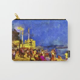 Istanbul At Night Van Gogh Carry-All Pouch