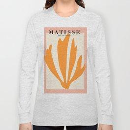 Henri matisse the cut outs contemporary, modern minimal art Long Sleeve T-shirt
