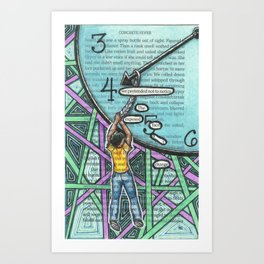 Twenty-eight. Art Print