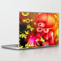 "arnold Laptop & iPad Skins featuring ""Arnold"" by shiva camille"