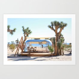 Airstream, Joshua Tree Acres 2 Art Print