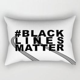 #BLACKLINESMATTER Rectangular Pillow