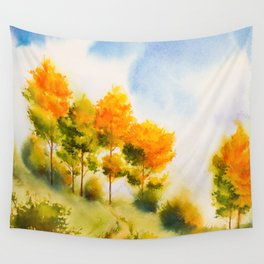 Autumn scenery #18 Wall Tapestry