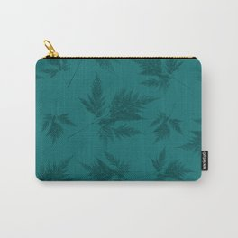 Fern blue Carry-All Pouch