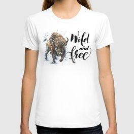 Buffalo Wild and Free T-shirt