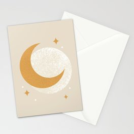 Moon Sparkle - Celestial Stationery Cards