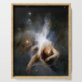 """Witold Pruszkowski """"Falling star"""" Serving Tray"""