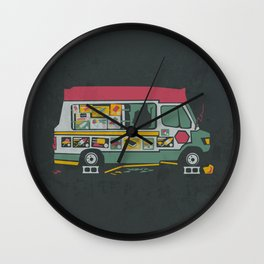 Disappointed Summer Wall Clock