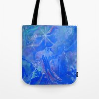 wizard Tote Bags featuring Wizard by InSight Out