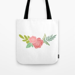 my red flower Tote Bag