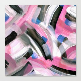 Crossing Pink Canvas Print