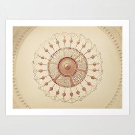 French Chandelier Art Print