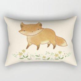 Organic Fox Rectangular Pillow