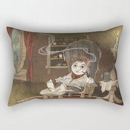 A Merrier World Rectangular Pillow