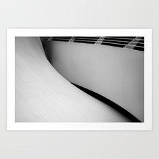 unfold Art Print