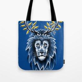Deer Lion Tote Bag